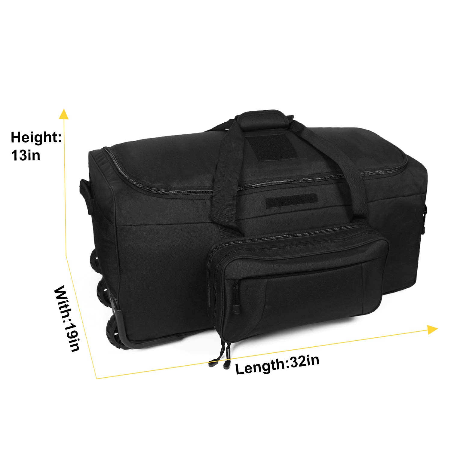Amazon.com: XWLSPORT - Bolsa de transporte militar con ...