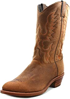 product image for Abilene Men's Bison Leather Cowboy Boot