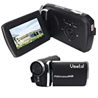 """GDV5250 Digital Video Camera 1080P Full HD DV Camcorder with Rechargeable Battery/ 2.7"""" TFT LCD Screen/ 270 Degree Rotation for Children/Beginners / Elderly"""