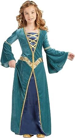 Disfraz Princesa Medieval (7-9 AÑOS): Amazon.es: Juguetes y juegos