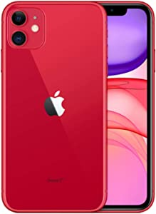 Apple iPhone 11, 64GB, Red - for T-Mobile (Renewed)