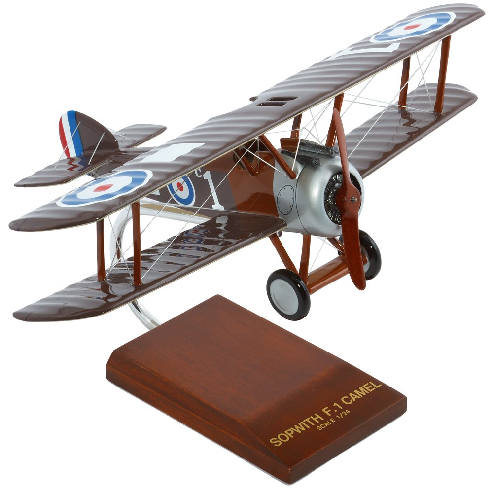 Mastercraft Collection Sopwith Camel Model Scale:1//24 Toys and Models Corporation MCSC1W FBSCT