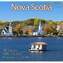 "Nova Scotia 2017 12x11.5"" Monthly Wall Calendar [Calendar] [Jul 01, 2016]"