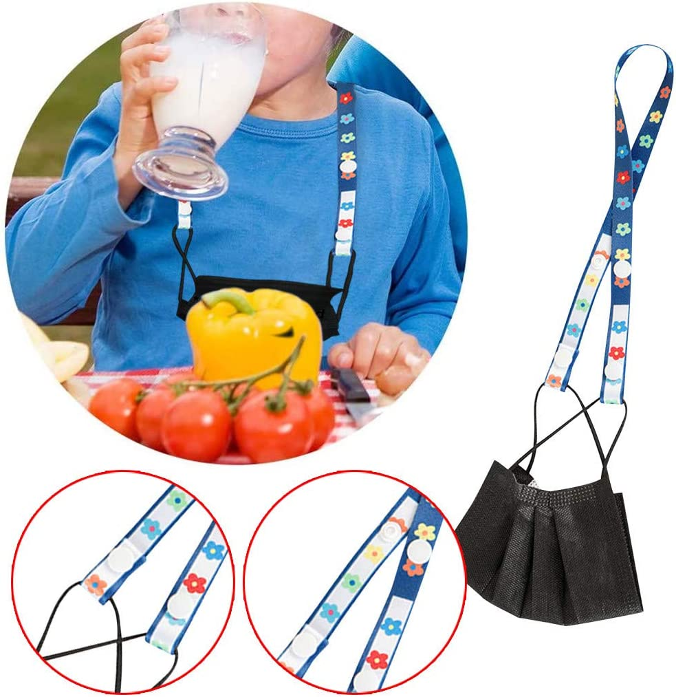 3, I 3 Pcs Lanyard for Face Mask with Clasps,Handy Convenient Neck Strap Lanyard,Ear Holder Rope,Mask Lanyard Strap for Kids and Adults