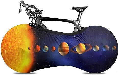 Bike Cover,Planetas del Sistema Solar Arround Sun Universe ...