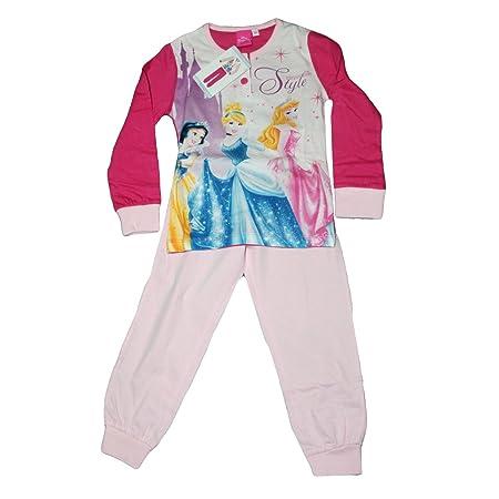 Russo Tessuti Pijama bebé niña Disney princesas Original Rosa ...