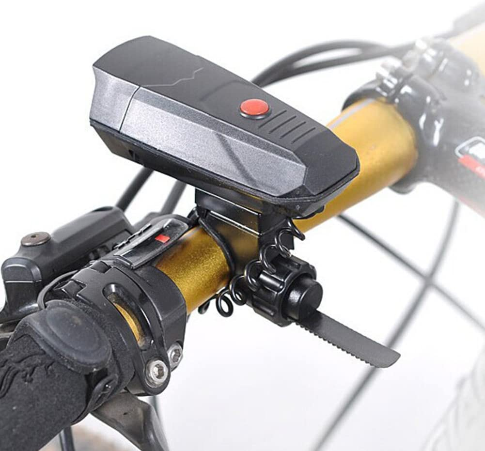 Kathleen0 Bike Horn ycling Durable Loud Safety 110dB sy Install Outdoor Battery Powered Riding