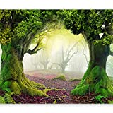 artgeist Photo Wallpaper Forest 116'x83' XXL Peel and Stick Self-Adhesive Foil Wall Mural Removable Sticker Premium Print Picture Image Design Home Decor 10110903-30