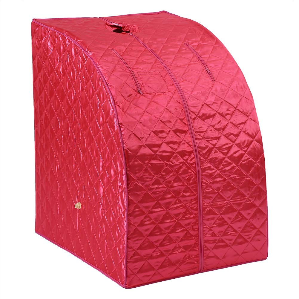 SPA Sauna Port/átil Asixx Sauna para Perder Peso con La Olla de Vapor EU Stecker Sauna Vapor Eliminar Toxinas Reducir El Estr/és Y La Fatiga