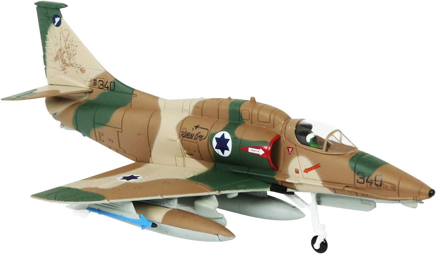 1//72th échelle moulé sous pression A-4 Skyhawk Fighter aircraft Avion Modèle Collection