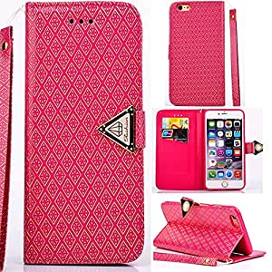 Canica [iPhone 5 5S],5S Wallet Case,5S Wallet Cases,Wallet Case Cover For iPhone 5,iPhone 5 Leather,Luxury Wallet Style Leather Case Cover For iPhone 5 5S With Strap 006