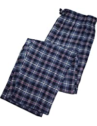 Fruit of the Loom - Mens Yarn Dyed Woven Flannel Sleep...