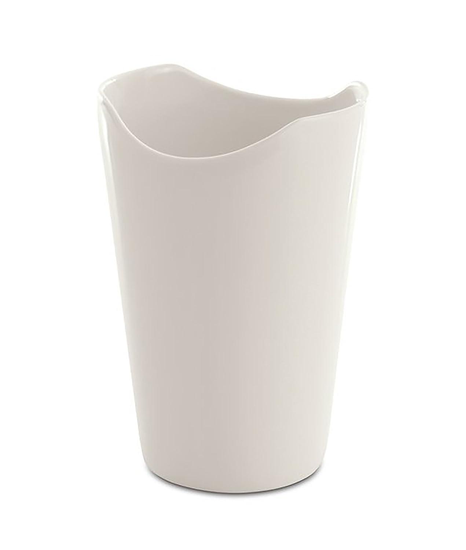 BergHOFF 3700443Vaso Porcellana Verniciata Bianco 12, 5x 8, 5x 8cm Set di 2