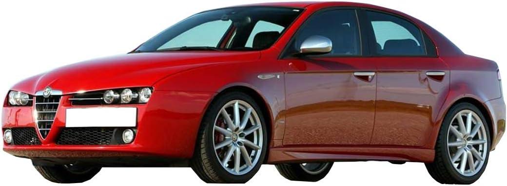 Wheelzone for Alfa Romeo 159 2004 CS0098 Stone Chip Lackschutzfolie Lackschutz Steinschlagschutz Protection Film Paint Decal Stoneguard for Front Archs ONLY