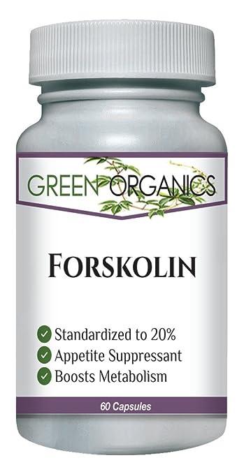 forskolin 20 percent standardized
