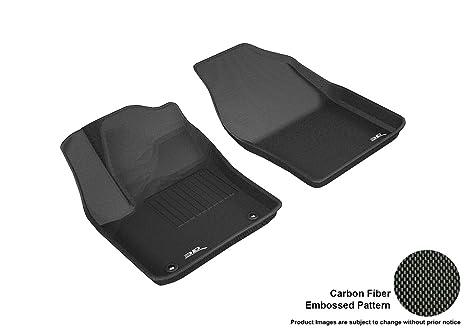 Black Coverking Custom Fit Front Floor Mats for Select Dodge Monaco Models Nylon Carpet