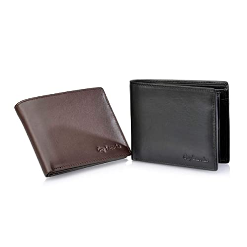Guy Laroche Americano Monedero Caballero 2436 (Color: Marrón ...
