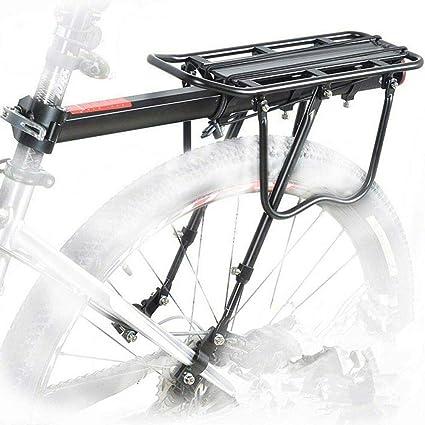 Bicycle Mountain Bike Rear Rack Seat Post Mount Pannier Luggage Carrier,.