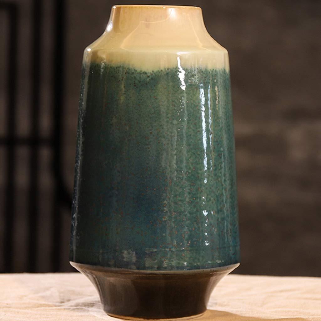 HBJP セラミック花瓶装飾リビングルームフラワーアレンジメント家の装飾 花瓶 (サイズ さいず : 8cm*28cm*15cm) B07S888PPY  8cm*28cm*15cm