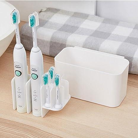 KOBWA - Soporte para Cepillo de Dientes eléctrico, fácil de almacenar, Soporte para Cepillo de Dientes: Amazon.es: Hogar