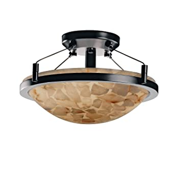 Amazon.com: justice design group lighting alr-9680 – 35-nckl ...