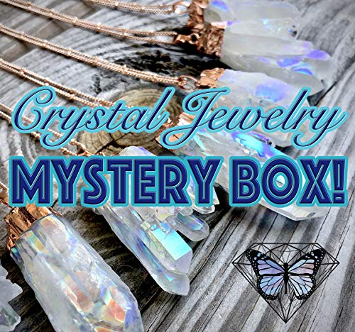 Jewelry Mystery box for women Crystal subscription boxes for girls under 20 Surprise box for girlfriend