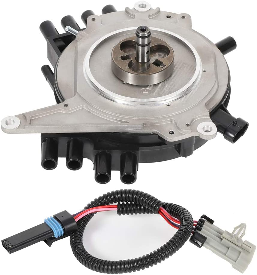 SCITOO New Ignition Distributor Compatible with Buick Roadmaster Cadillac Fleetwood Chevy Camaro//Caprice//Corvette//Impala Pontiac Firebird 1994-1997 DST1833 1104032 19212300