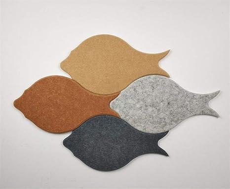 Amazon.com: DQQ Fish - Pizarras de fieltro 3D para paredes ...