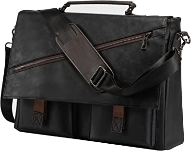Coffee Bean Owl Printed Laptop Shoulder Bag,Laptop case Handbag Business Messenger Bag Briefcase