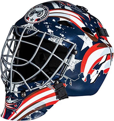 Columbus Blue Jackets NHL Full Size Youth Goalie Hockey Mask - New with Tags - Not for Competitive Play