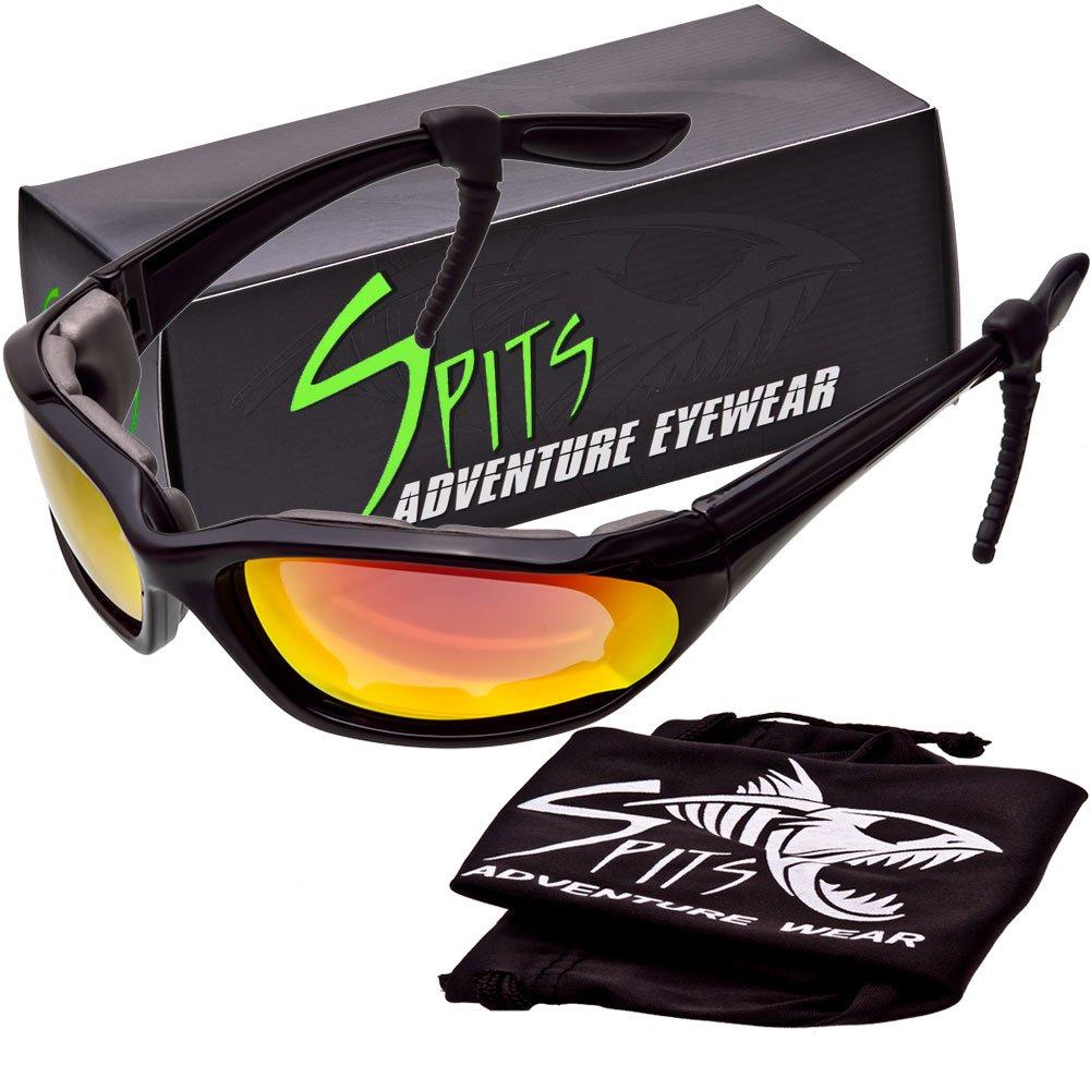 Kickstand II Foam Padded Sunglasses - Small Black Frame - Grey G-Tech Red Coated Lenses