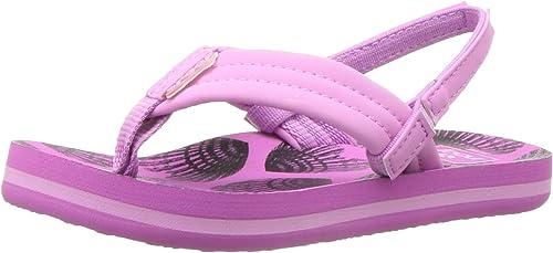 Reef Little Girls Kids NEW  Sandals Summer Slip On Soft Flip Flops