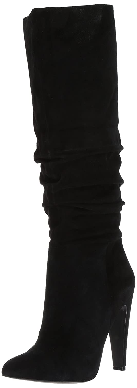 Steve Madden Women's Carrie Fashion Boot B071W5VVXQ 9.5 B(M) US|Black Suede