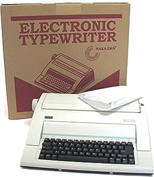 Nakajima wpt-150 electrónico máquina de escribir: Amazon.es: Oficina y papelería