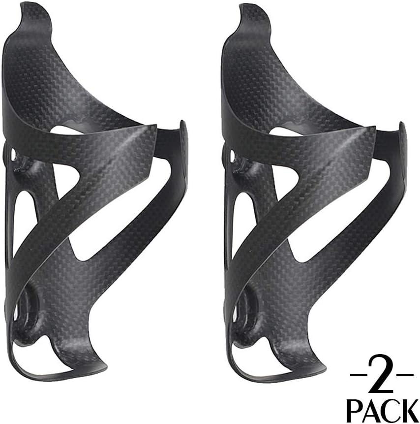 TOSEEK - Portabotellas de fibra de carbono para bicicleta, soporte ...
