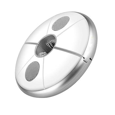 LEDMOMO Luz para paraguas al aire libre USB recargable RGB 48 LED 240lm Altavoz Bluetooth (