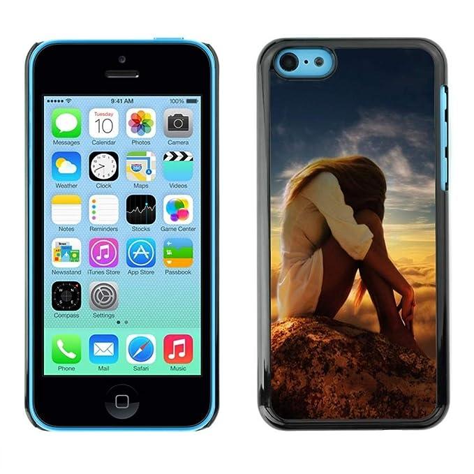 Smartphone Duro Carcasa PC para iPhone 5C/tienda/naturaleza ...