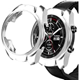 Haojavo Compatible with Ticwatch Pro Case, Slim Fit Ultra Light TPU Protective Case Bumper Shell Cover for Ticwatch Pro Smart
