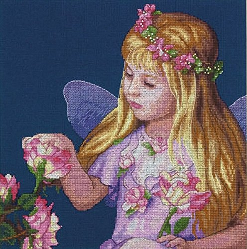 Dimensions Needlecrafts Counted Cross Stitch, Rose Fairy