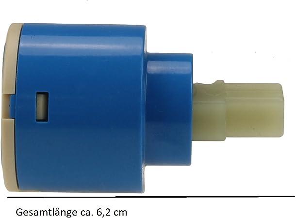 Cartouches de rechange dans le Set Lot de 2/Cartouche en c/éramique 35/mm Cartouche de rechange Cartouche de rechange Cartouche de rechange pour robinetterie Mitigeur monocommande robinet