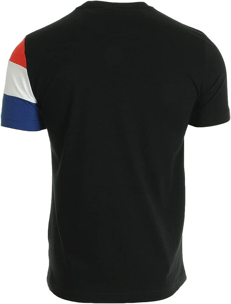 Le Coq Sportif Tri SP BBR CotonTech tee SS M Black, Camisa ...