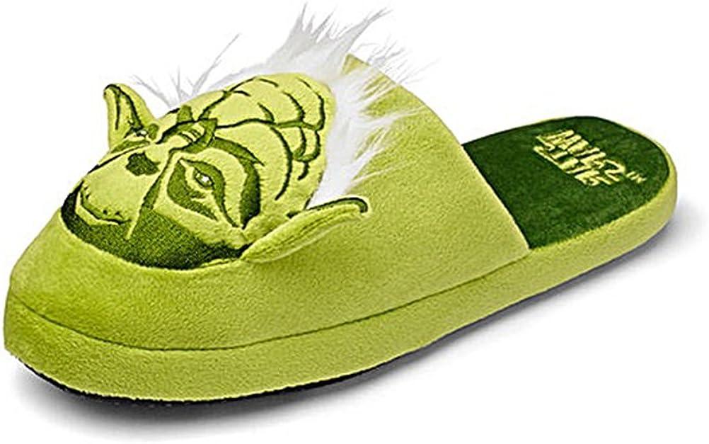 Star Wars Oficial Maestro Yoda adulto mula Slip zapatillas