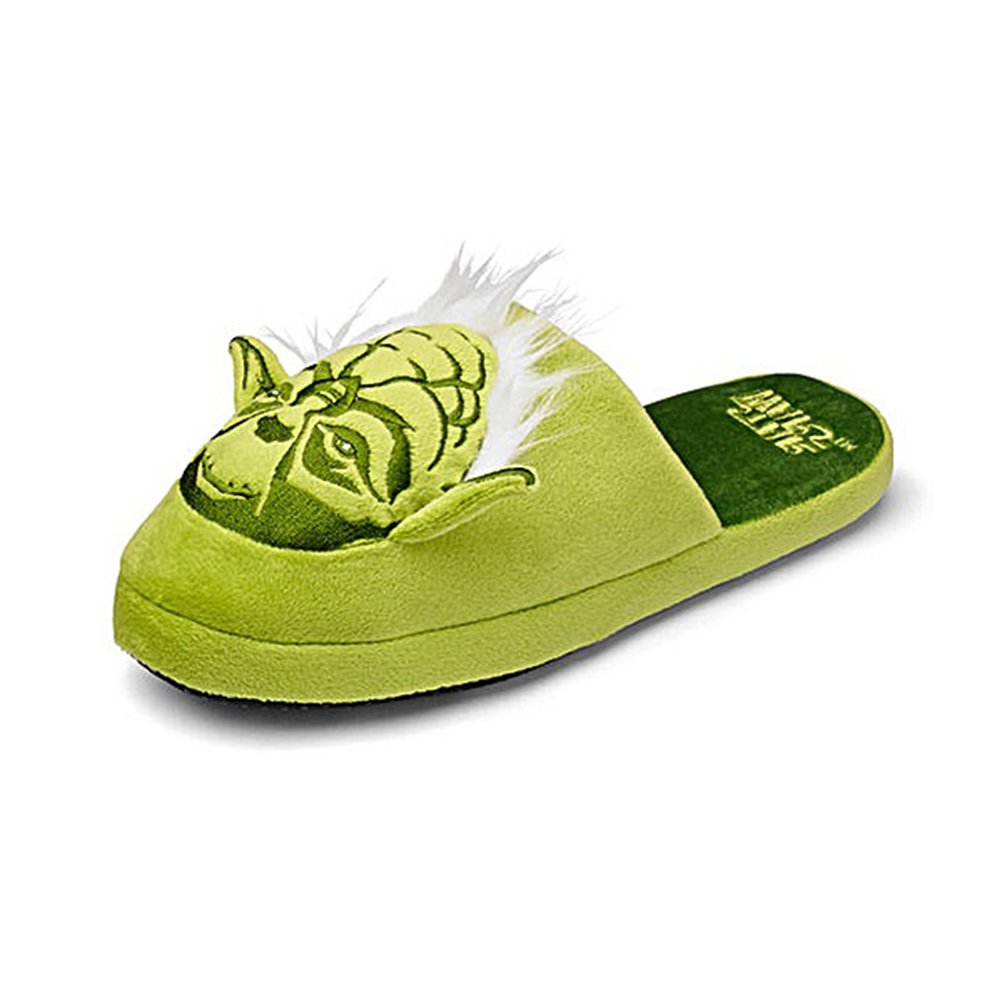 TALLA EU 38-41. Star Wars Oficial Maestro Yoda adulto mula Slip zapatillas