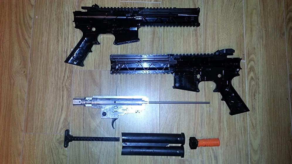 SteelForce .177 Caliber Steel BB Airgun Too cheaply made, fails after 1K shots on average.