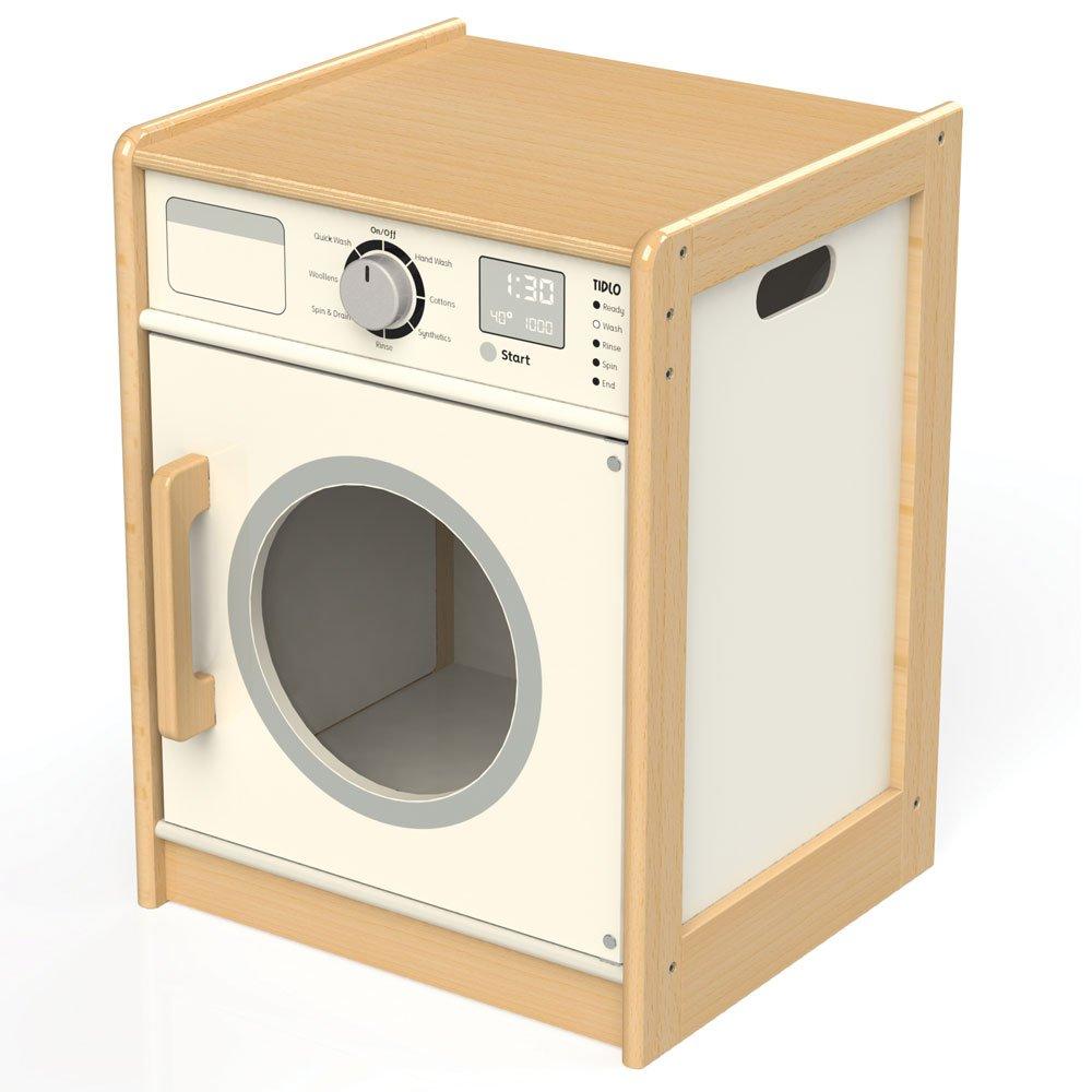 Waschmaschine Holz - Bigjigs Toys Tidlo Waschmaschine Weiß