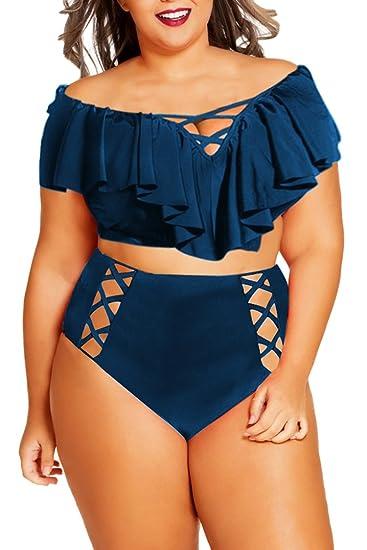 2037de026e93 7 trajes de baño estilo High Waist para las mujeres plus size | La ...