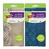 Scotch-Brite Scrubbing Dish Cloths Mixed Case, Assorted Colors, 1 Pack