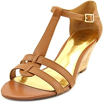 Ralph Lauren - Sandalias de Vestir para Mujer marrón Polo Tan ...