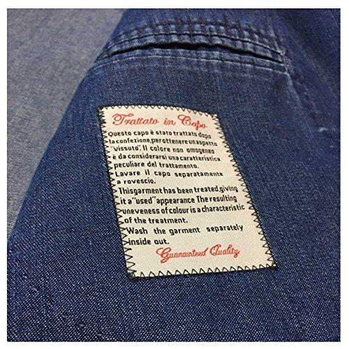 b L Sfoderata Uomo m Vestibilita 1911 Jeans Cotone Regular Giacca Slim 100 OBxrOn6Sq