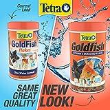 TetraFin Goldfish Flakes 7.06 Ounces, Balanced Diet Fish Food